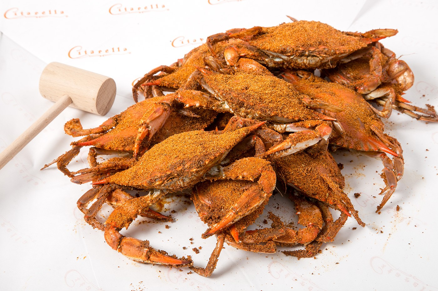 Spiced Maryland Crabs
