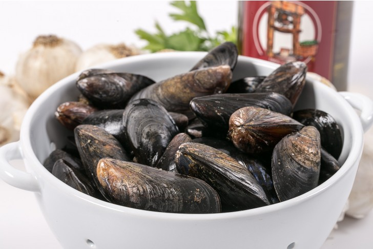 Wild Prince Edward Mussels
